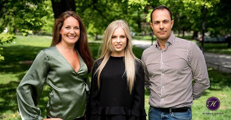 Hermes Group, Anna Hermes, Rebecca Pettersson, Vianei Hermes