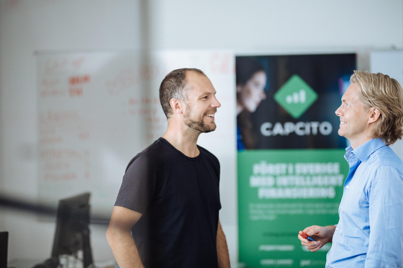Finansiering med Capcito, bakgrundshistoria
