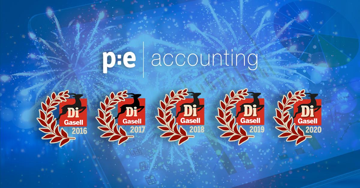 PE Accounting Di Gaseller 5 år i rad