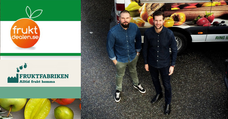 Fruktdealen startar webshopen Fruktfabriken