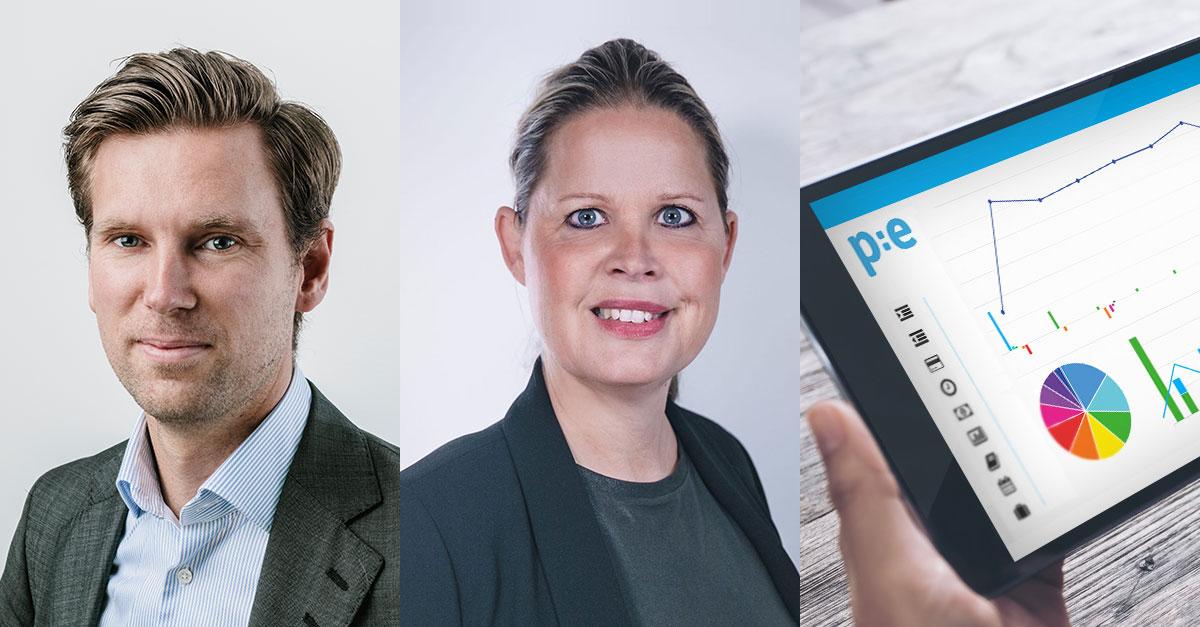 Koncernredovisning, release, PE Accounting, Olle Rydqvist CEO, Jenny Alfvén Produktchef
