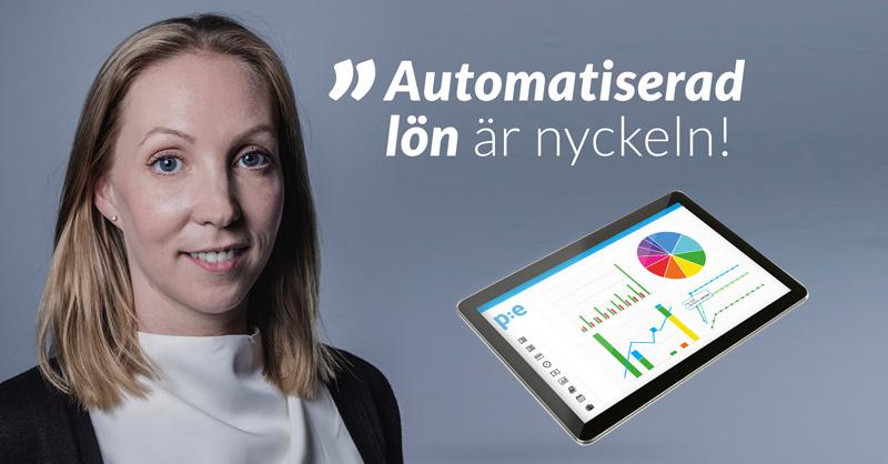 Automatiserad lön, Jenna Holm, Payroll Manager, PE Accounting