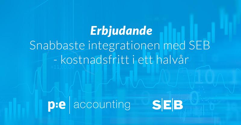 SEB, PE Accounting, Markndens snabbaste integration