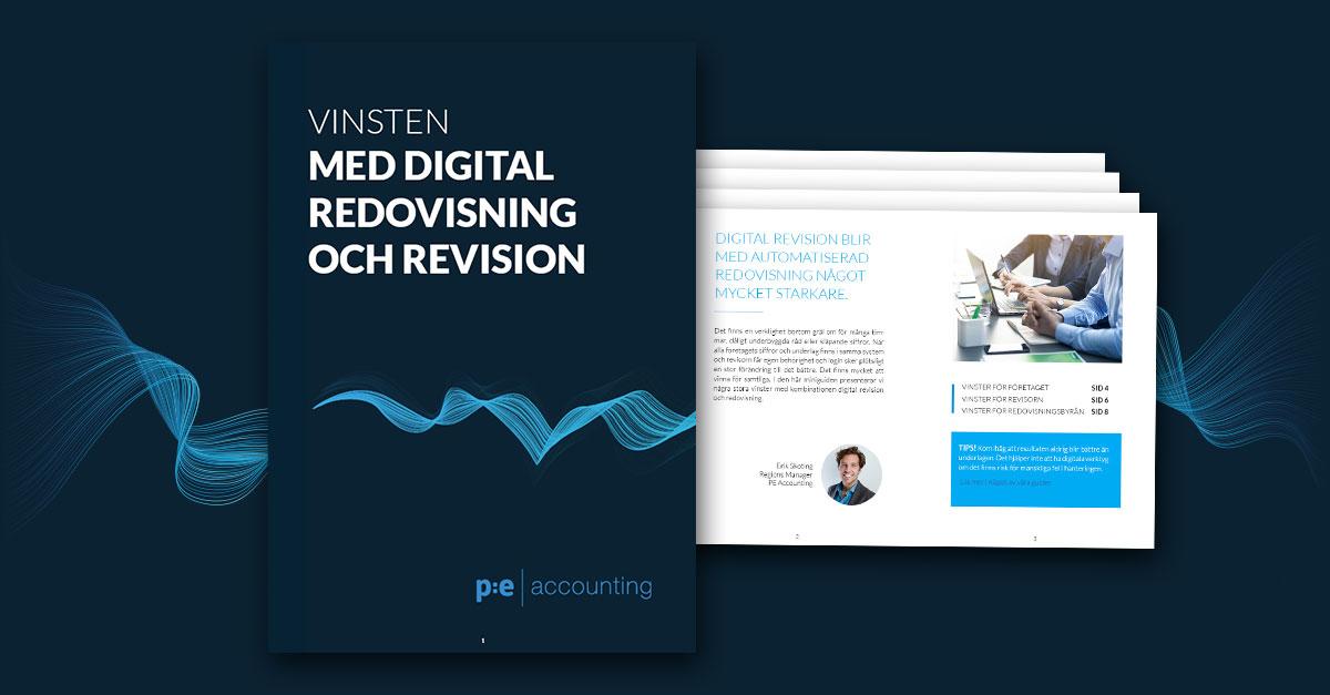 Vinsten med digital revision och automatiserad redovisning