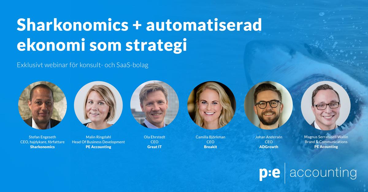 Webinar om sharkonomics och automatisering för konsult- och saas-bolag